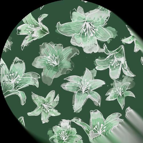 green lilys