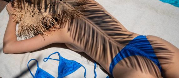 בגד ים כחול – לילי ביקיני